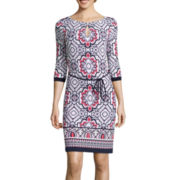 Liz Claiborne® Printed Sheath Dress