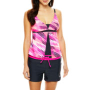 Free Country® Flyaway Tankini Swim Top or Drawstring Swim Shorts