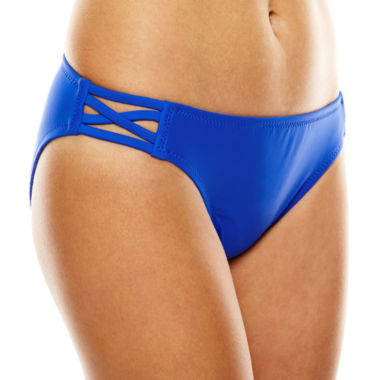 jcpenney.com | a.n.a® Grace Bay Solid Hipster Swim Bottoms