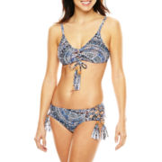 a.n.a® Batik Grace Bay Halter Swim Top or Hipster Swim Bottoms