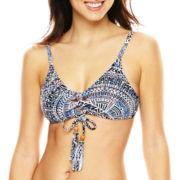a.n.a® Grace Bay Batik Print Halter Swim Top