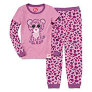 Beanie Boos 2-pc. Pajama Set - Girls 4-8