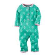 Carter's® Mint Geo Sleep & Play - Baby Girls newborn-9m