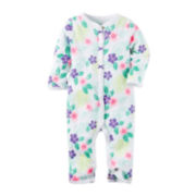 Carter's® Floral Footless Sleep & Play - Baby Girls newborn-9m