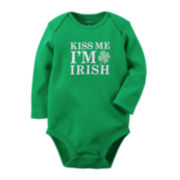 Carter's® Long-Sleeve St. Patrick's Day Bodysuit - Baby newborn-24m