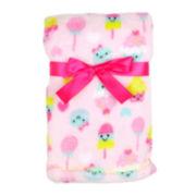 Cutie Pie Printed Velboa Blanket