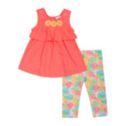 Little Lass® Tank Top and Leggings Set -  Preschool Girls 4-6x