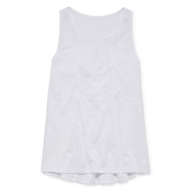 jcpenney.com | Arizona Lace Inset Tank Top – Girls 7-16 and Plus