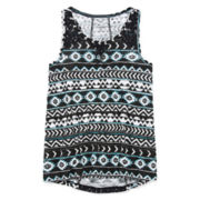 Arizona Lace Inset Tank Top – Girls Plus