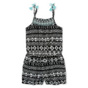 Arizona Sleeveless Tribal Romper - Girls 7-16