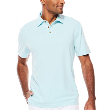 jcpenney.com | Island Shores™ Short-Sleeve Knit Polo