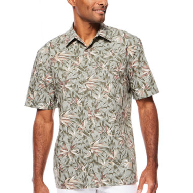 jcpenney.com | Island Shores™ Short-Sleeve Printed Camp Shirt