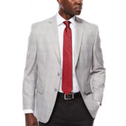 Collection by Michael Strahan Gray Plaid Sport Coat - Classic Fit