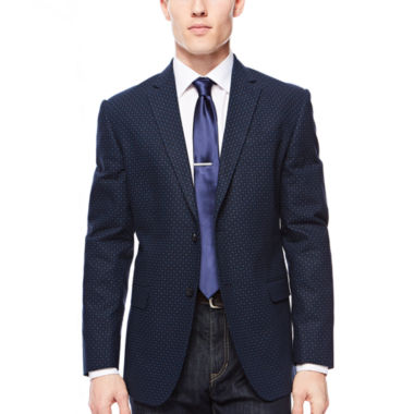 jcpenney.com | JF J. Ferrar® Navy Diamond Sport Coat - Slim Fit