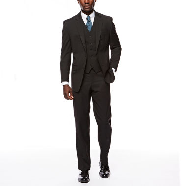 jcpenney.com | Izod Stretch Black Striped Suit Separate-Classic Fit