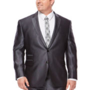 JF J. Ferrar® Gray Luster Suit Jacket - Big & Tall