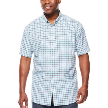 jcpenney.com | The Foundry Supply Co.™ Short-Sleeve Oxford Shirt - Big & Tall