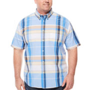 The Foundry Supply Co.™ Short-Sleeve Poplin Shirt - Big & Tall