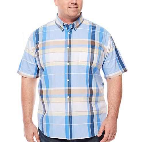 The Foundry Big & Tall Supply Co.™ Short-Sleeve Poplin Shirt