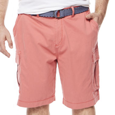 jcpenney.com | The Foundry Big & Tall Supply Co.™ Belted Cargo Shorts