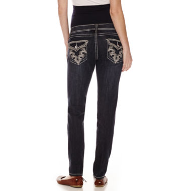 jcpenney.com | Tala Overbelly Bling-Pocket Skinny Jeans - Plus