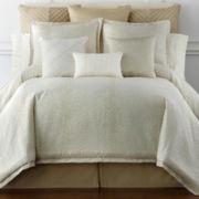 Liz Claiborne® Livingston Leopard Jacquard 4-pc. Comforter Set & Accessories
