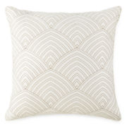 Liz Claiborne® Livingston Square Metallic Decorative Pillow