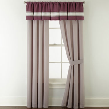jcpenney.com | Home Expressions™ Melise 2-Pack Rod-Pocket Curtain Panels
