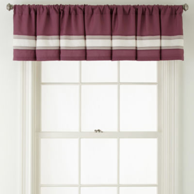 Home Expressions™ Melise Rod-Pocket Valance