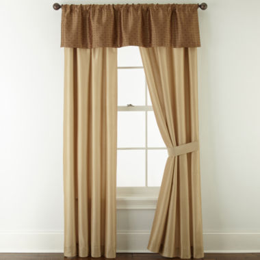 jcpenney.com | Home Expressions™ Savoy 2-Pack Curtain Panels