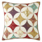 "Home Expressions™ Laura 18"" Square Decorative Pillow"
