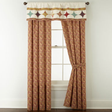 jcpenney.com | Home Expressions™ Laura 2-Pack Curtain Panels