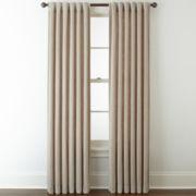 Royal Velvet® Luxury Chenille 2-Pack Rod-Pocket/Back-Tab Curtain Panels