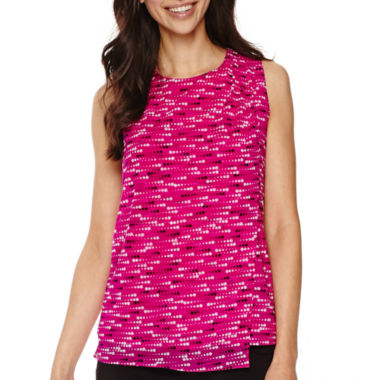 jcpenney.com | Worthington® Wrap Tank Top - Tall