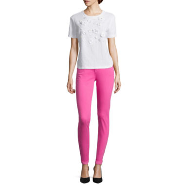 jcpenney.com | Stylus™ High-Low T-Shirt or Skinny Ankle Jeans