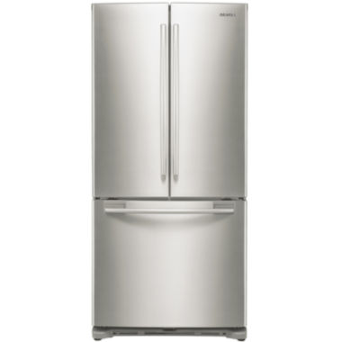 "jcpenney.com | Samsung 17.5 cu. ft. 33"" Wide French-Door Counter-Depth Refrigerator"