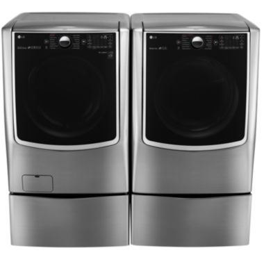 jcpenney.com | LG Electric Washer and Dryer Package with Pedestals
