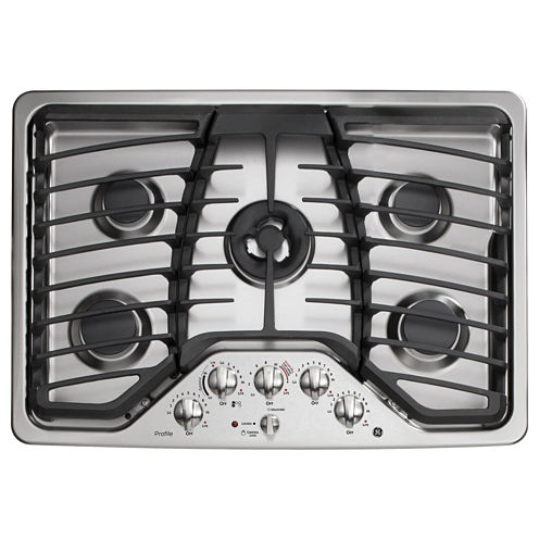 "GE Profile™  30"" Built-In Gas Cooktop With 5 Burners"
