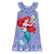 Disney Collection Ariel Nightshirt - Girls 2-10