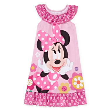 jcpenney.com | Disney Collection Minnie Mouse Nightshirt - Girls 2-8
