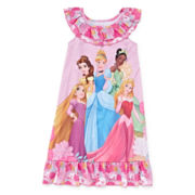Disney Collection Princess Nightshirt - Girls 2-10