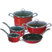 Chantal® Copper Fusion® 9-pc. Nonstick Cookware Set
