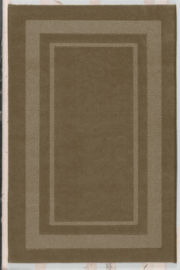 Double Border Washable Runner Rugs