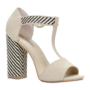 Call It Spring™ Ybaevia High Heel T-Strap Sandals