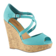 Call It Spring™ Cheasien High Heel Peep Toe Wedge Sandals