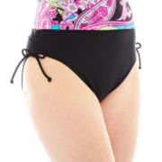 Maidenform High-Waist Hipster Swim Bottoms