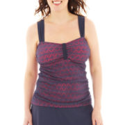 Sonria Crochet Tankini Swim Top - Plus
