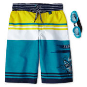 Zero Xposur® Skyscraper Board Shorts - Boys 6-18