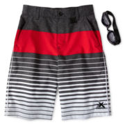 Zero Xposur® Kingpin Board Shorts - Boys 6-18