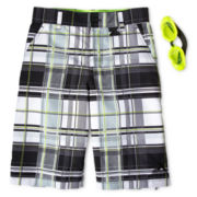 Zero Xposur® Heel Flip Board Shorts - Boys 6-18